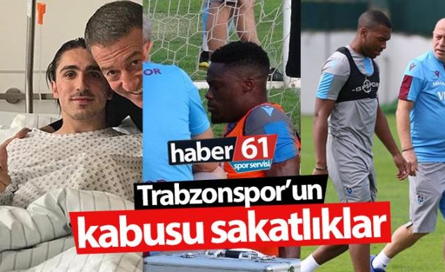 Haber61 Spor Servisi  Trabzonspor bu sezon sakatlıklarla tam anlamıyla kabusu yaşıyor.  Bordo mavili takımda bu sezon Abdülkadir Ömür, Caleb Ekuban, Yusuf Sarı ve Fernandes'in ardından Daniel Sturridge de sakatlandı.