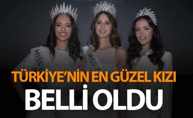 Türkiye'nin en güzel kızı belli oldu