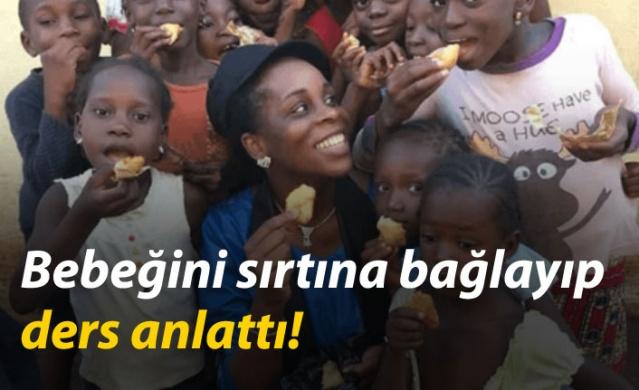 Georgia'da yer alan Georgia Gwinnett College'da öğretim görevlisi Dr. Ramata Sissoko Cissé, bebeğinin bakıcısı son anda gelmeyince öğrencilerini mağdur etmemek adına bebeğini sırtına bağlayarak ders anlattı. İşte düşünceli profesörün ilginç hikayesi...