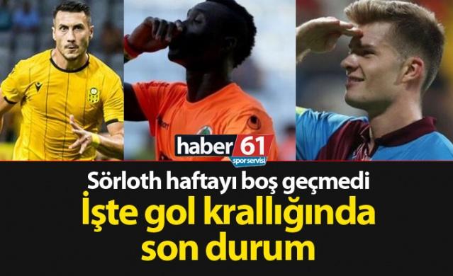 Haber61 Spor Servisi  Süper Lig'de 7. hafta geride kalırken gol krallığı yarışında bazı isimler öne çıkmaya başladı. İşte 7. haftanın ardından gol krallığı sıralaması