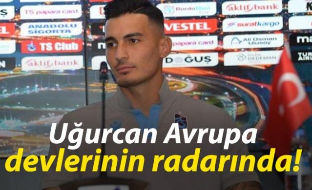 Trabzonspor'un başarılı file bekçisi Uğurcan Çakır bir maçta daha takımını sırtladı.
