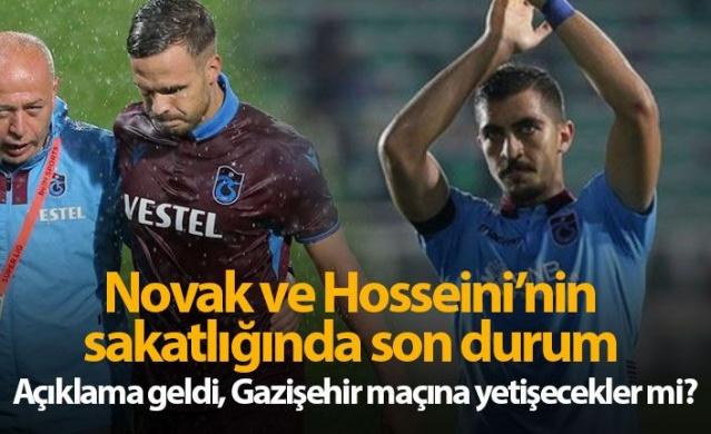 Trabzonspor'a Novak ve Hosseini müjdesi
