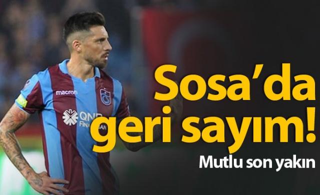 Trabzonspor'da Sosa için geri sayıma geçildi