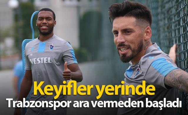 Trabzonspor Krasnodar hazırlıklarına başladı