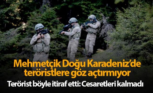 Mehmetçik Doğu Karadeniz'de teröristlere göz açtırmıyor