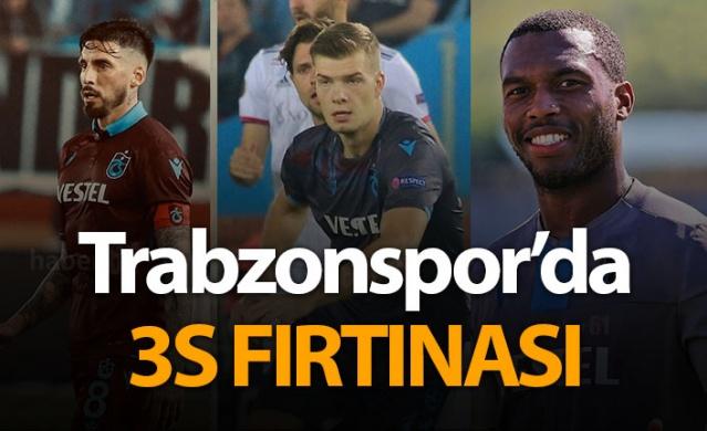 Trabzonspor'da 3S fırtınası