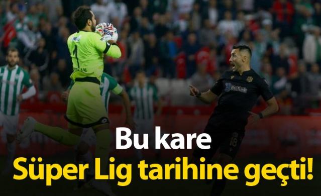 Süper Lig tarihine geçen an! Serkan Kırıntılı daha 20. saniyede...