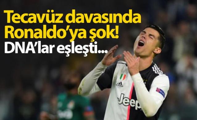 Tecavüz davasında Ronaldo'ya şok