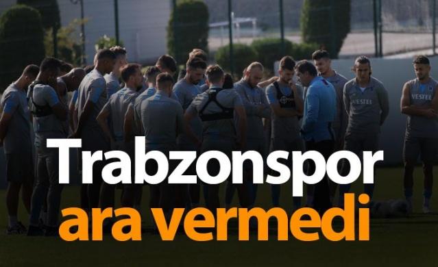 Trabzonspor Başakşehir maçı hazırlıklarına başladı