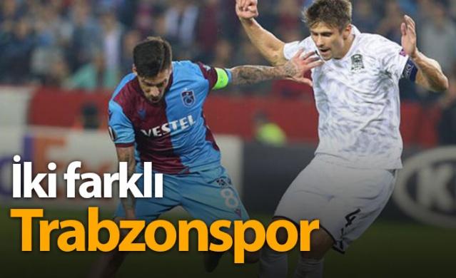 Trabzonspor ligde farklı Avrupa'da farklı