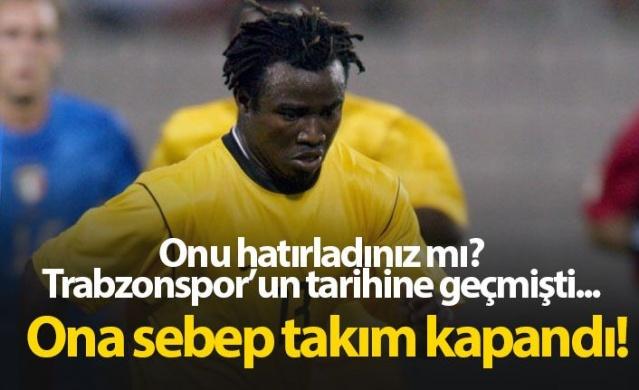 Trabzonspor tarihine geçmişti, onun yüzünden takım kapandı!
