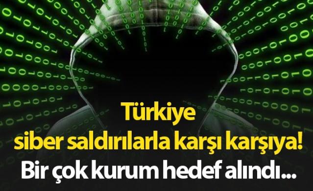 Türkiye siber saldırılarla karşı karşıya! Ddos saldırısı nedir?