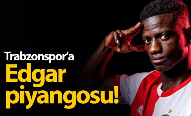 Trabzonspor'a Edgar piyangosu