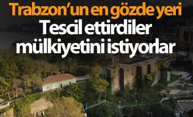 Trabzon'un en gözde yerine sahip çıktılar