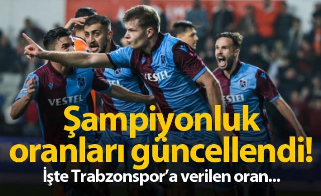 İlk 9 haftasını geride bıraktığımız Süper Lig'de şampiyonluk oranları yeniden güncellendi. İşte son durum