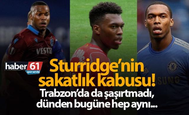 Trabzonspor'da Sturridge'nin sakatlık kabusu