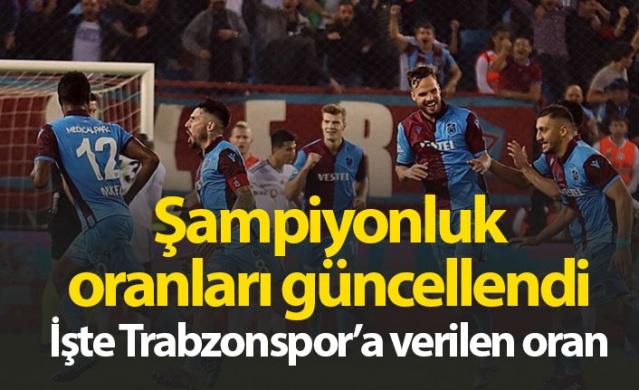 Süper Lig'de haftalar ilerledikçe oluşan tablo sonrası oranlarda sık sık güncelleniyor. 10. haftanın ardından Süper Lig'de Şampiyonluk mücadelesi veren takımlar iddaa risk yönetimi şampiyonluk oranlarını güncelledi. İşte Süper Lig'in son şampiyonluk oranları...