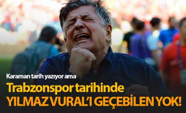 Trabzonspor tarihinin en iyisi Yılmaz Vural!