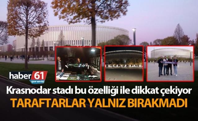 Trabzonspor Krasnodar maçının oynayacağı stat bu özelliği ile dikkat çekiyor