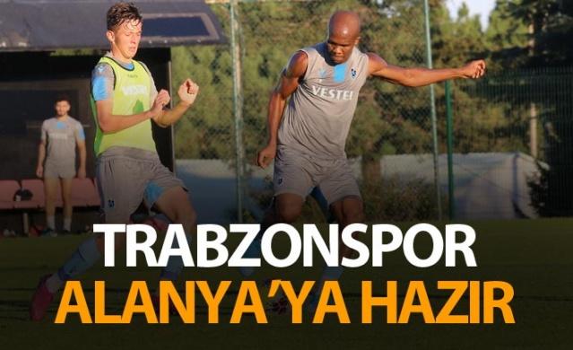 Trabzonspor Alanya'ya hazır