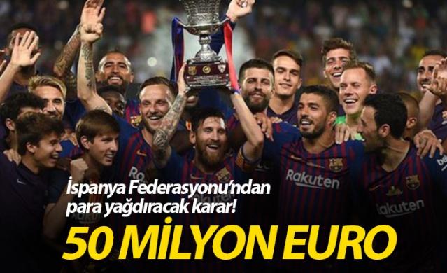 İspanya Futbol Federasyonu'ndan Arabistan kararı