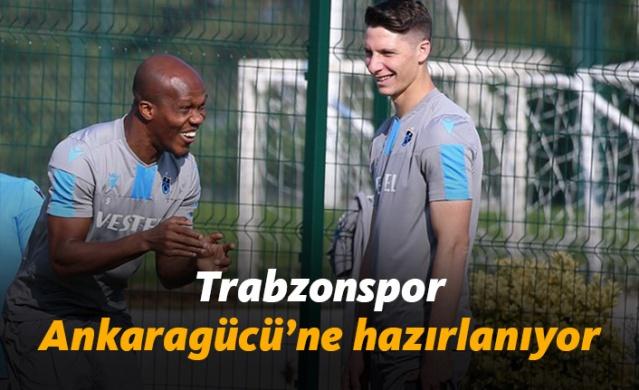 Trabzonspor'da Ankaragücü hazırlıkları sürüyor