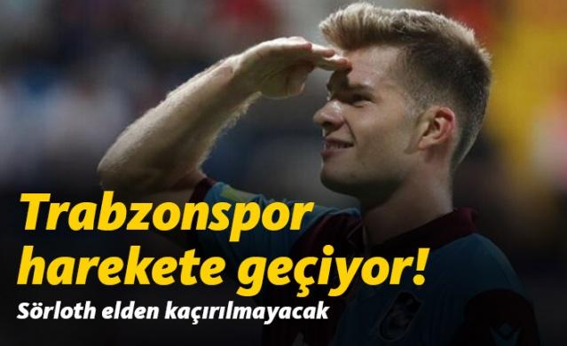 Trabzonspor'dan Sörloth girişimi
