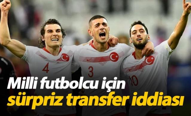 Milli futbolcu için sürpriz transfer iddiası