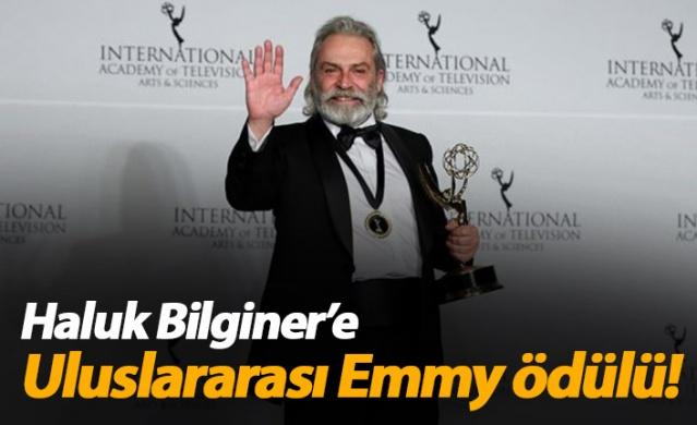 Haluk Bilginer Uluslararası Emmy Ödülleri'nde 'En İyi Erkek Oyuncu' ödülünü kazandı