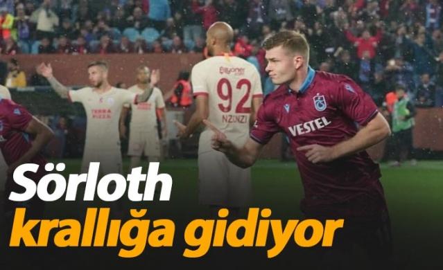 Trabzonspor'un Norveçli futbolcusu Alexander Sörloth, bordo-mavili takım ile kariyerinin en formda günlerini yaşıyor.