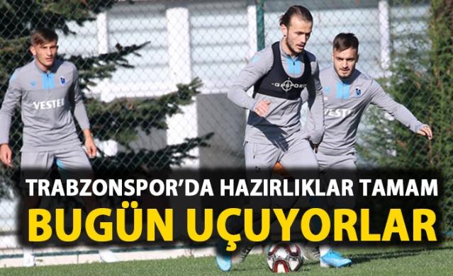Trabzonspor Altay maçı hazırlıklarını tamamladı