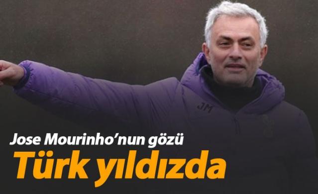 Mourinho Türk yıldızın peşinde