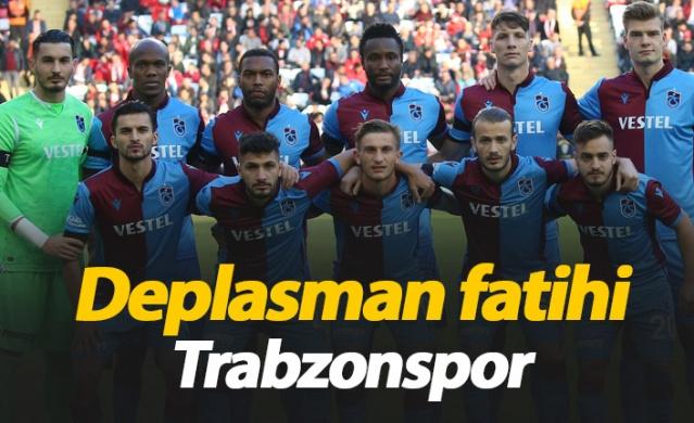 Deplasman fatihi Trabzonspor