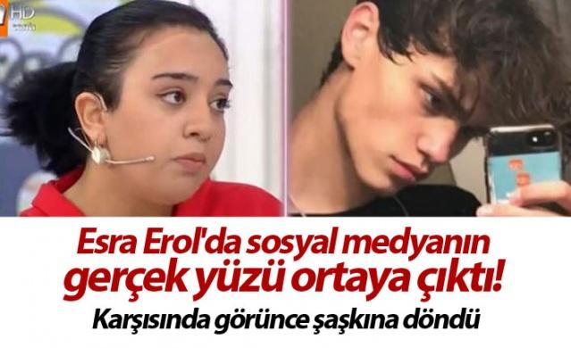 Esra Erol'da sosyal medyanın gerçek yüzü ortaya çıktı! Karşısında görünce şaşkına döndü