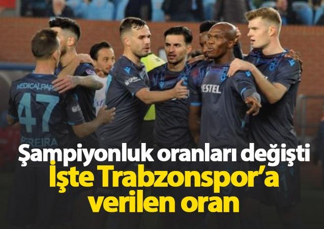 Süper Lig'de şampiyonluk oranları 17. haftanın sona ermesiyle değişti. İşte son oranlar