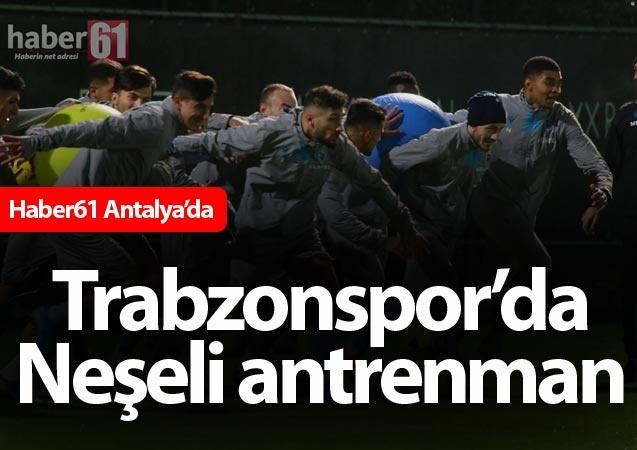 Haber61 – Spor Servisi – Trabzonspor, Süper Lig'in ikinci yarısı için hazırlıklarını Antalya'da yaptığı kampla sürdürüyor.