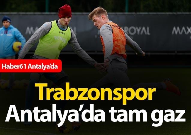 Haber61 – Spor Servisi - Trabzonspor, Süper Lig Cemil Usta Sezonu ikinci yarısı için hazırlıklarına Antalya Belek'te yaptığı kampla devam ediyor.