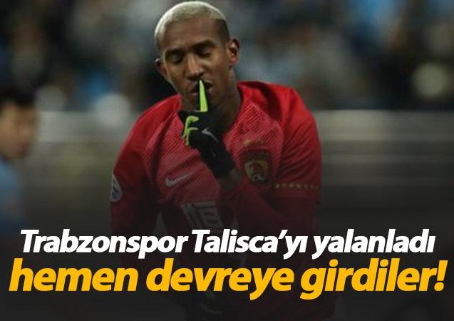 Adı Trabzonspor ile anılan Talisca için yeni bir iddia gündeme geldi