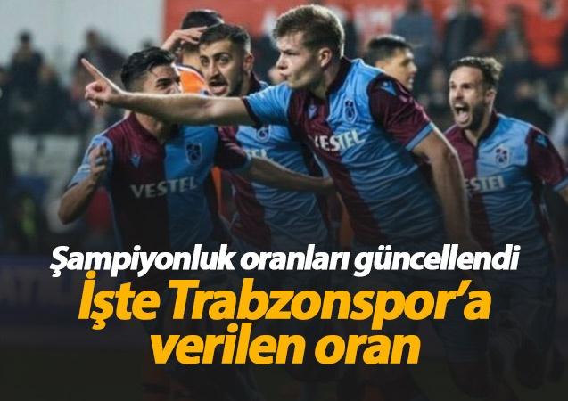 Süper Lig'de devre arası hazırlık dönemi sürerken takımlara verilen şampiyonluk oranları da güncellendi. İşte son durum;