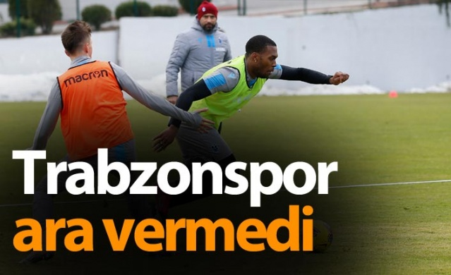 Trabzonspor ara vermedi