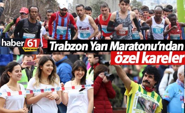 40. Uluslararası Trabzon Yarı Maratonu'ndan kareler