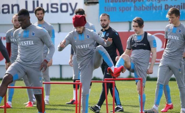 Trabzonspor Gaziantep'e hazırlanıyor
