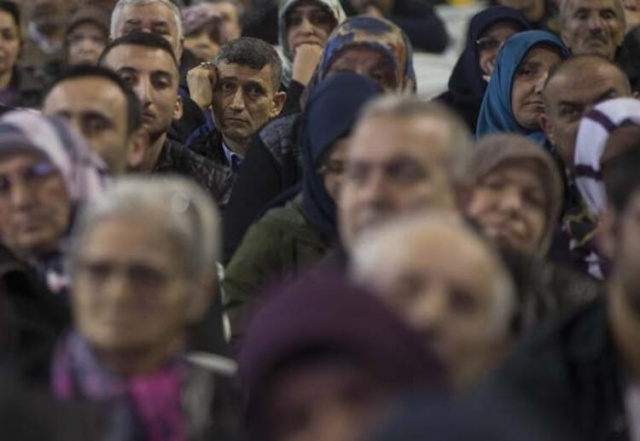 Ankara'da TOKİ konutları için kura heyecanı