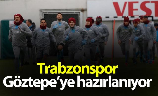 Trabzonspor Göztepe'ye hazırlanıyor