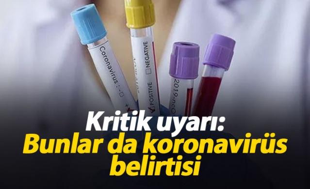 Koku ve tat duyusu kaybının yeni tip koronavirüsün (Kovid) semptomları arasında yer alabildiği belirtildi.