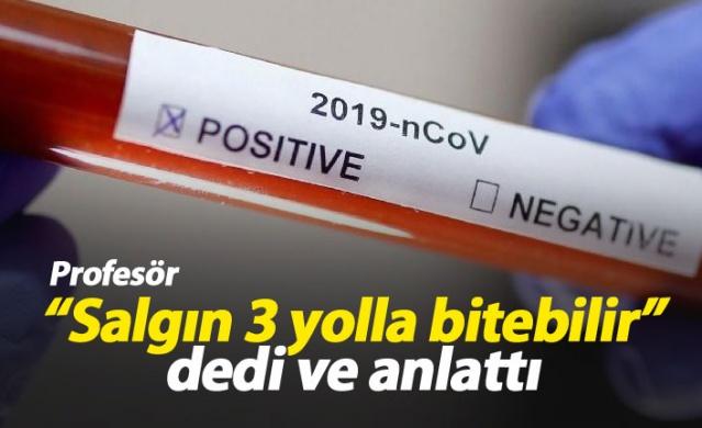 Hacettepe Üniversitesi Tıp Fakültesi Çocuk Enfeksiyon Hastalıkları Bilim Dalı Başkanı Prof. Dr. Mehmet Ceyhan, dünyada binlerce kişinin ölümüne neden olan yeni tip koronavirüsün, insanların virüse bağışıklık kazanması, etkin bir aşının bulunması ya da virüsün zaman içinde mutasyona uğraması sonucu etkisini yitirebileceğini söyledi.