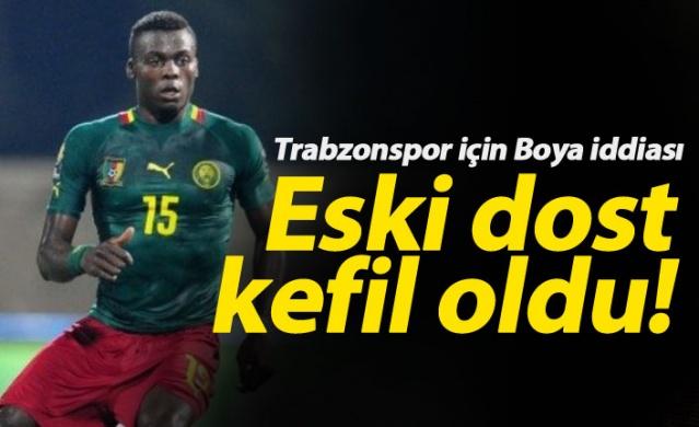 Eski dost Trabzonspor için devrede