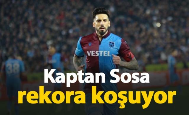 Kaptan Sosa rekora koşuyor