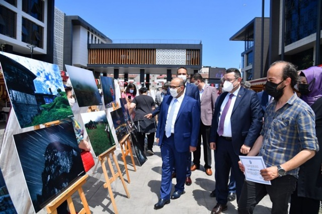 El emeği ürünler Trabzon'da sergilendi