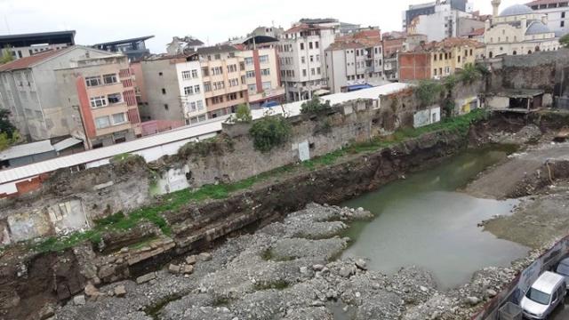Trabzon'da bulunan Roma dönemi kalıntıları açık hava arkeoloji müzesi oluyor